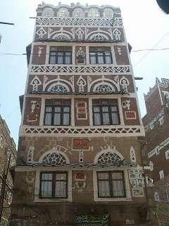 Sana'a - Old Town - Houses