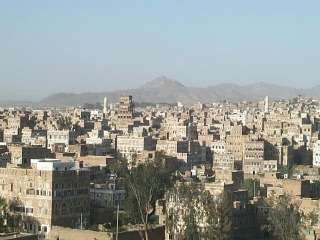 Sana'a - Old Town - View