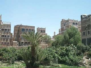Sana'a - Old Town - Houses