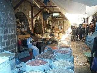 Sana'a - Old Town - Spice Souk